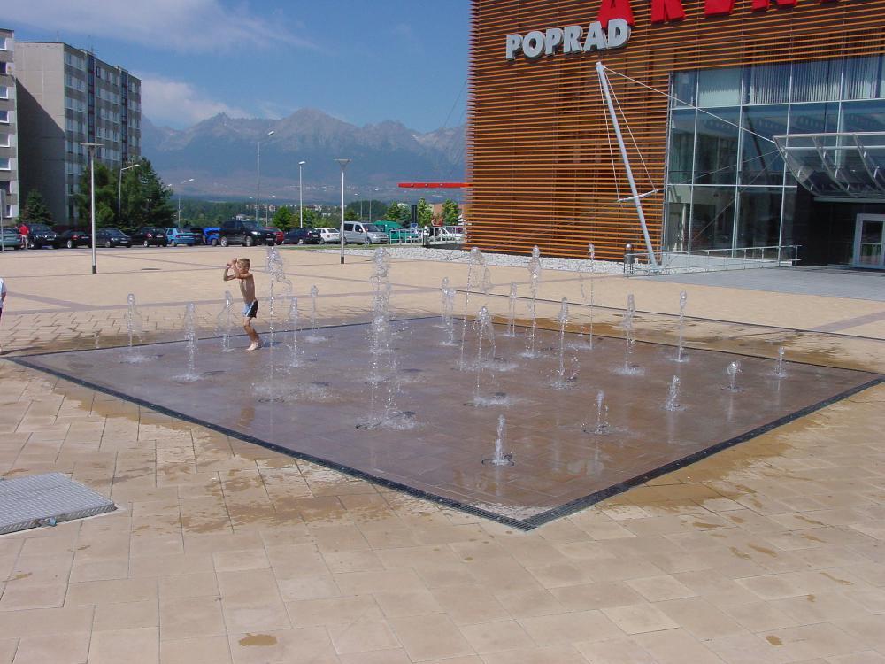 Wasserspiele Begehbar