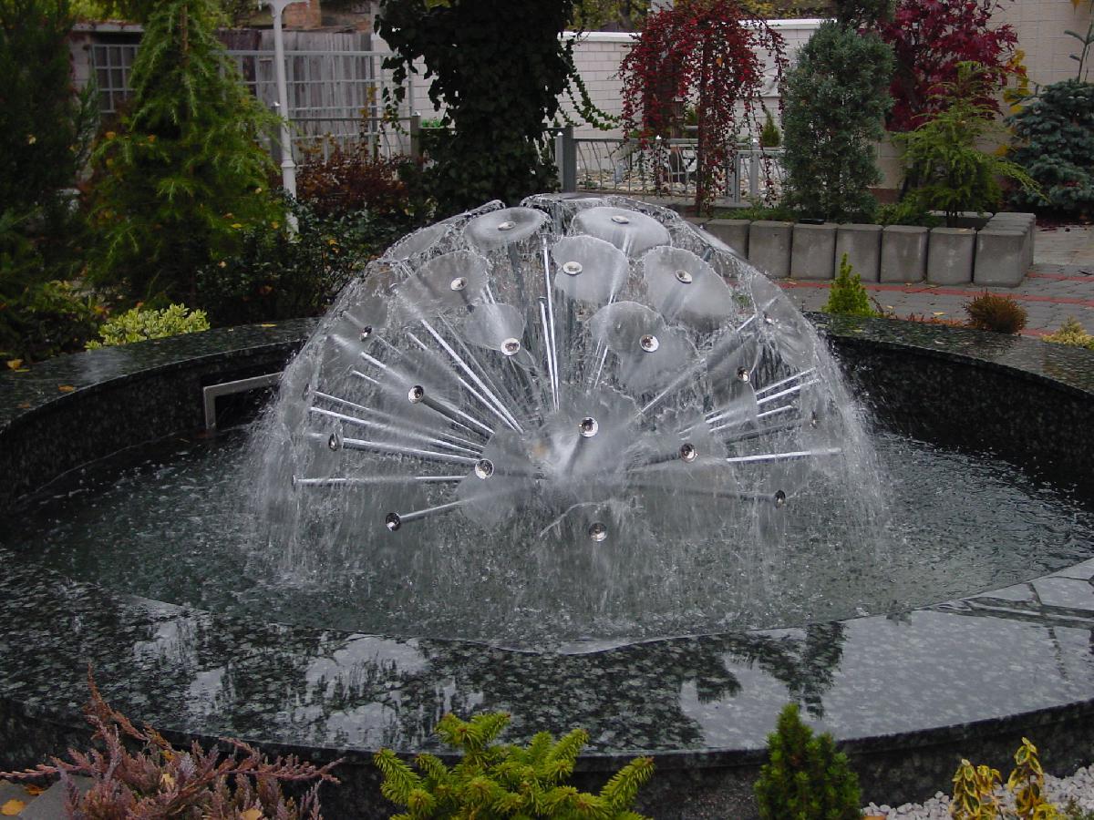Halbkugel Springbrunnen